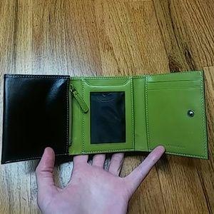 Levenger Bags - Levenger Leather Trifold Wallet